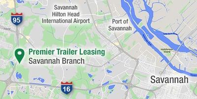 Savannah Area Map